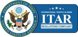 itar regulations compliant logo